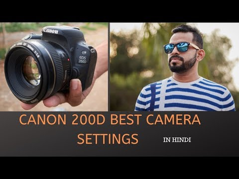 AWESOME OUTDOOR PORTRAIT PHOTOGRAPHY WITH DSLR CANON 200D BEST SETTINGS