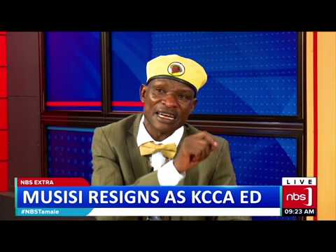 One On One With Tamale Mirundi: Musisi Resigns As KCCA ED