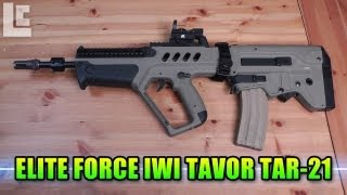 Elite Force IWI Tavor TAR-21 AEG Airsoft Gun (Airsoft SC Village Gameplay/Commentary)