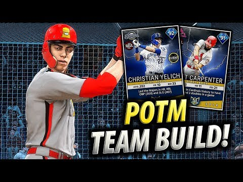 DIAMOND PLAYER OF THE MONTH BUILD!! MLB THE SHOW 18 DIAMOND DYNASTY