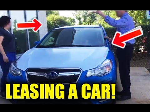 How to lease a car from a dealership easy tutorial! (2016/2017)