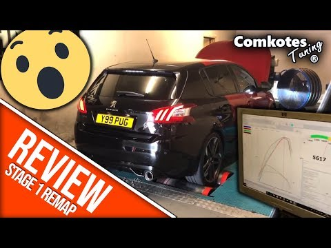 REVIEW: Comkotes Tuning Stage 1 Remap for Peugeot 308 GTi