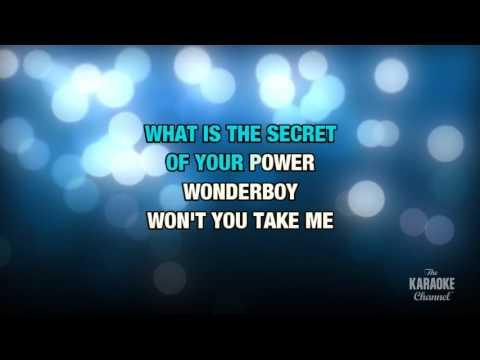 Wonderboy in the style of Tenacious D | Karaoke with Lyrics