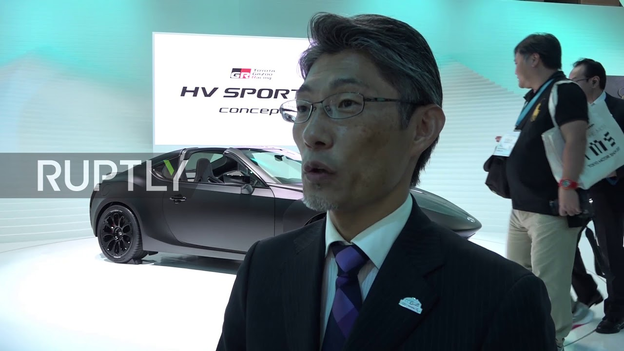 Japan Honda And Toyota Display Their Latest Sports Car Creations In