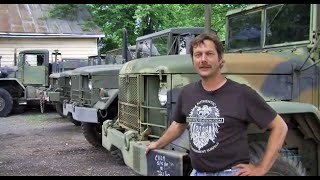 Mechanic Uses Surplus Military Cargo Truck to Save a Life
