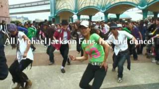 "June 25th  World wide ""Beat It!"" -A dance tribute to Michael Jackson"