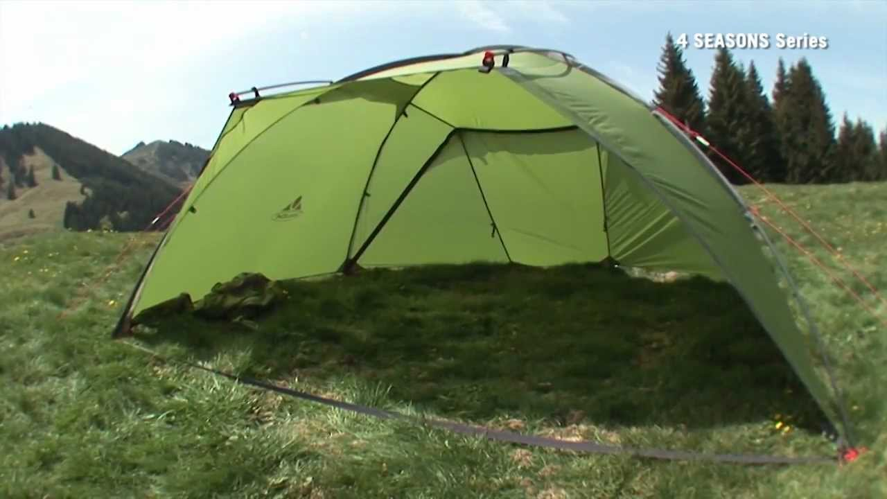& Space 3 Personen Set up | VAUDE - YouTube