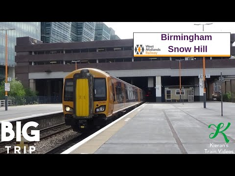 Trains At Birmingham Snow Hill, CML - 24/5/19