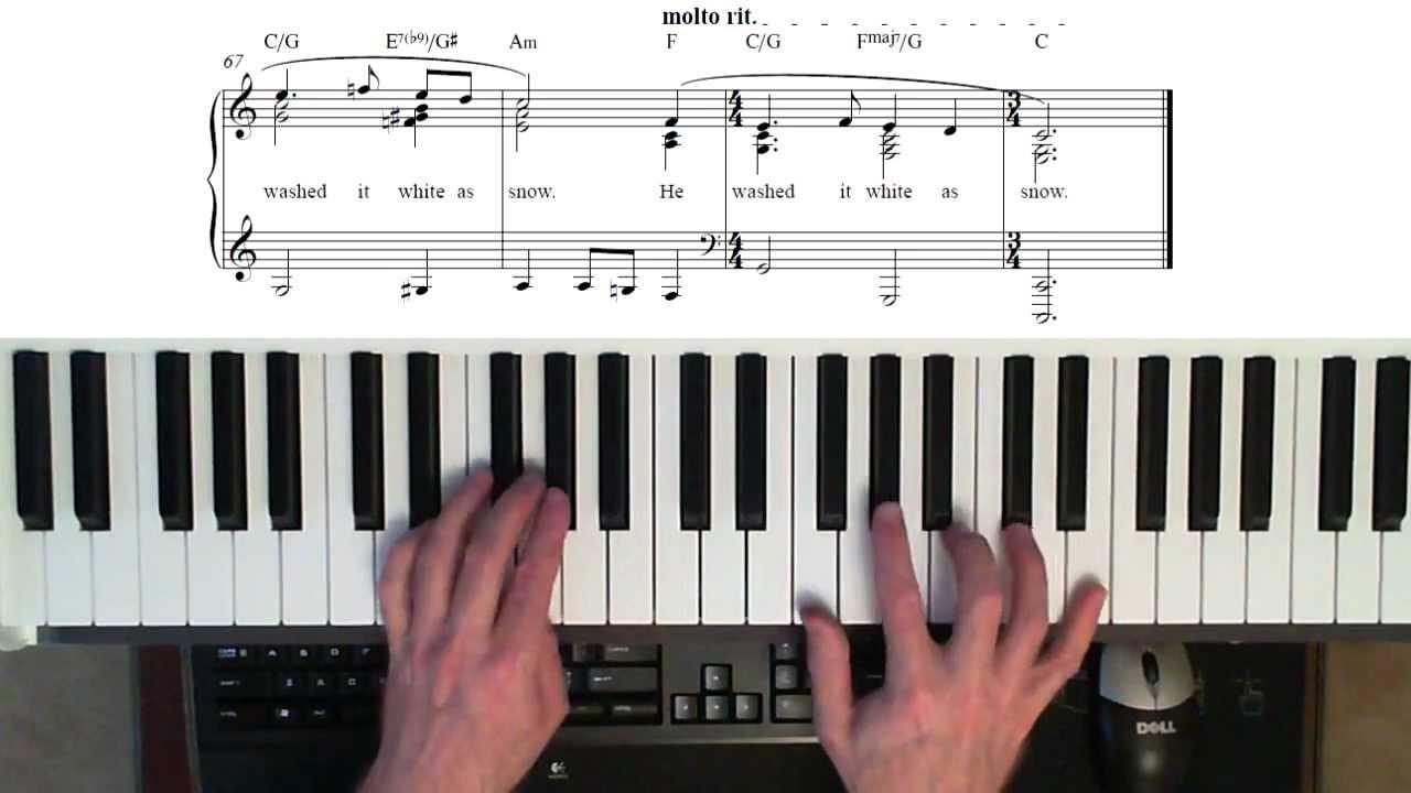 Jesus paid it all wordless piano tutorial play along piano jesus paid it all wordless piano tutorial play along piano score youtube hexwebz Gallery