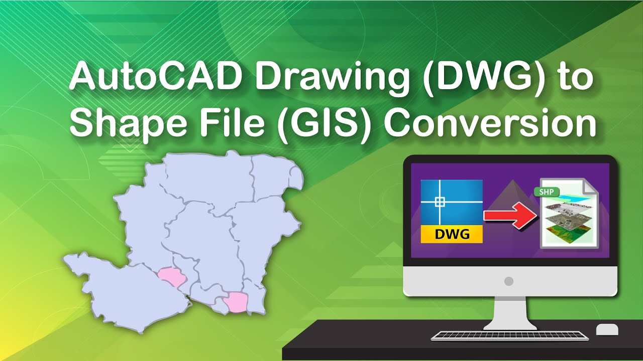 AutoCAD Drawing to Shape File