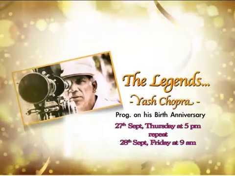 The Legends - Yash Chopra