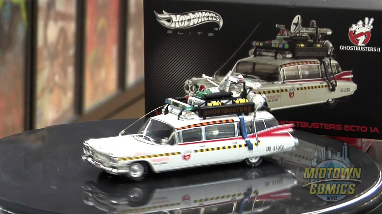 Hot wheels cult classics ghostbusters 1 43 scale ecto 1a die cast unboxing youtube