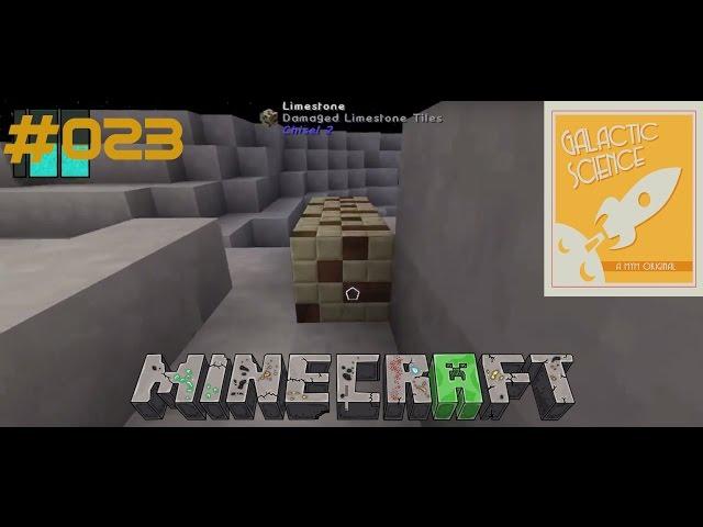 Let's Play Minecraft Galactic Science   Umbau der Mauer & Verlegung der Baumfarm   Folge #023