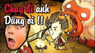 Don't Starve #1: TEAM ĐỤT tấu hài với trò SINH TỒN siêu khó !!!