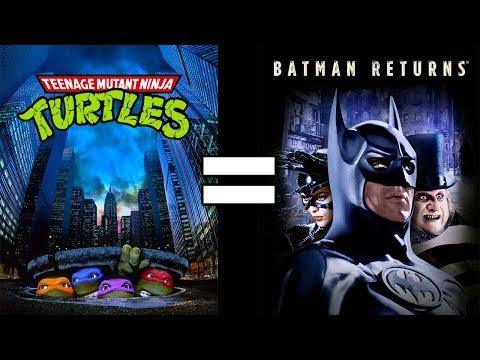 24 Reasons Teenage Mutant Ninja Turtles & Batman Returns Are The Same Movie
