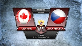 WW U18. QF Canada - Czech Republic