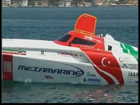Pierre Colpin - Powerboat P1 - 2009 World Championship - Istanbul, Turkey (Part 2).VOB