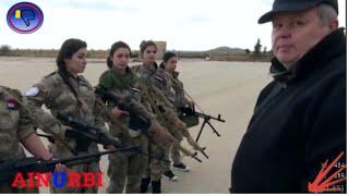 Сирия -ИГИЛ. Женщины -снайперы 2016 (RUS)