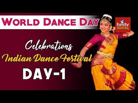 Indian Dance Festival | World Dance Day 2018 | Shilparamam | Day - 1 | Telugu Lessa