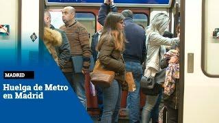 Comienza la huelga de maquinistas de Metro de Madrid sin provocar complicaciones a los usuarios