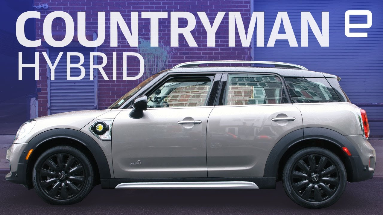 Mini Cooper S E Countryman All 4 Hybrid Hands On Youtube