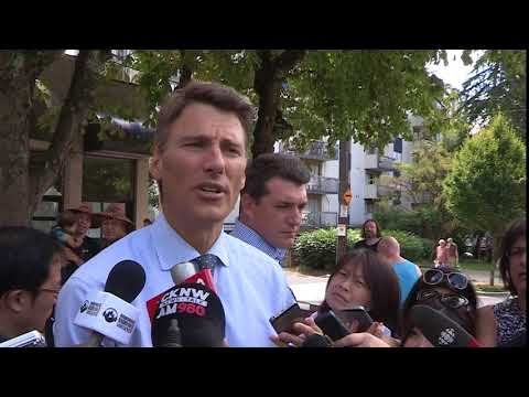 Vancouver Mayor Gregor Robertson responds to new provincial tax on foreign real estate investment
