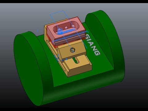 MASTERCAM MULTIAXIS LESSON: 4 AXIS POSITIONING (INDEXING)
