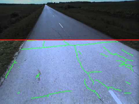 Detection of Defects in road using Deep Learning (id600, 5 fps)