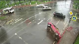 ДТП.Аварии с видеорегистратора №7 за Май 2019