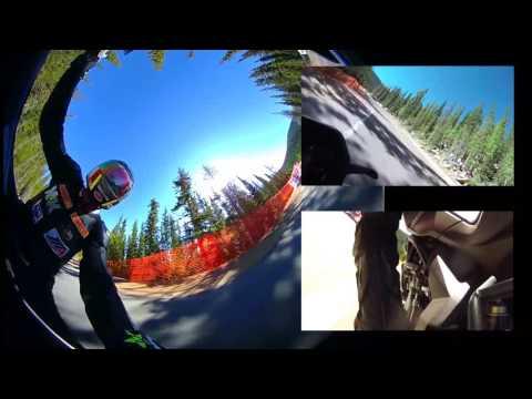 PPIHC 2016 Motorcycle Vs Big Mountain (Pikes Peak International Hill Climb)