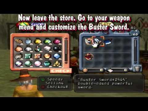 Dark Cloud (NTSC-U) Glitch - Early Chronicle 2 Sword