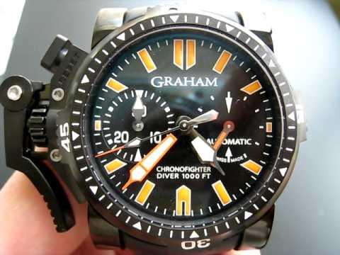 Graham Deep Seal PVD chronograph