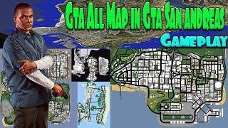 All GTA Maps in GTA San Andreas PC 1080p 60fps