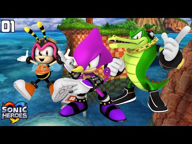 Sonic Heroes (GC) [4K] - Team Chaotix (1/7)