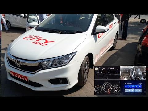 New Honda City 2017 Zx Top Model Interior And Exterior Youtube