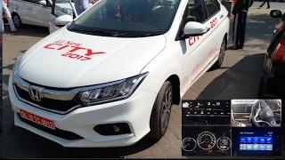 New Honda city 2017 ZX Top model interior and exterior