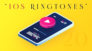 iPhone 11 Stock Ringtones || iPhone Notification Tones || iOS Stock Ringtones