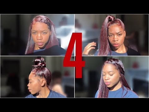HAIRSTYLES ON STRAIGHT NATURAL HAIR | Sidne Power