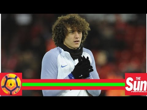Chelsea centre back david luiz ruled out with a knee injury