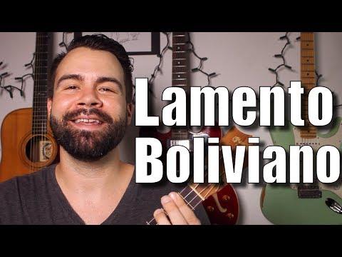 Lamento Boliviano - Enanitos Verdes - Easy Ukulele Tutorial in English