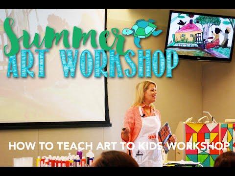 How to Teach Art to Kids