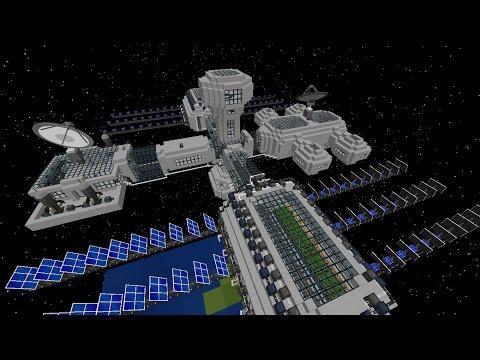Мод на космос GalactiCraft для Майнкрафт 1.7.10/1.7.2/1.6.4
