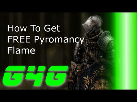 How to Get a Free Pyromancy Flame In Dark Souls
