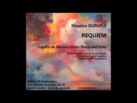 In Paradisum del Requiem de M Duruflé
