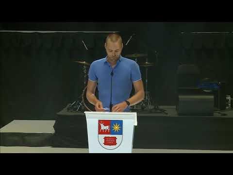 Tado Vidmanto kalba KTU 2018 rugsėjo 1-osios ceremonijoje
