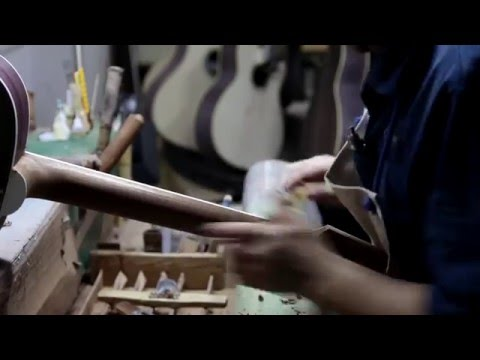 "Takamine handmade guitar factory - LTD2015 ""RENGE-SO"""