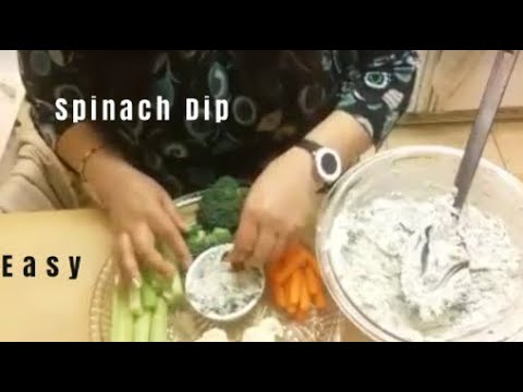 Spinach Dip By Knorr - Easy & Delicious