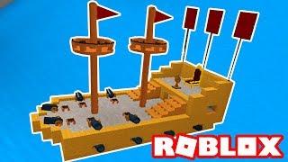 Roblox → CONSTRUINDO NAVIOS !! - Build A Boat For Treasure 🎮