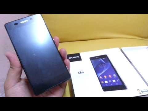 แกะกล่อง Sony Xperia Z2
