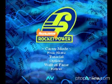Rocket Power : Zero Gravity Zone   Unreleased Xbox Game
